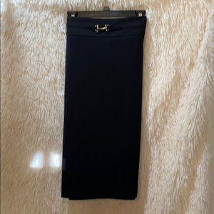 NWT Sharagano Black Skirt Size 14